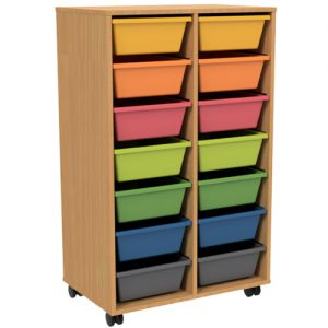 LAMINATE TOTE TROLLEY