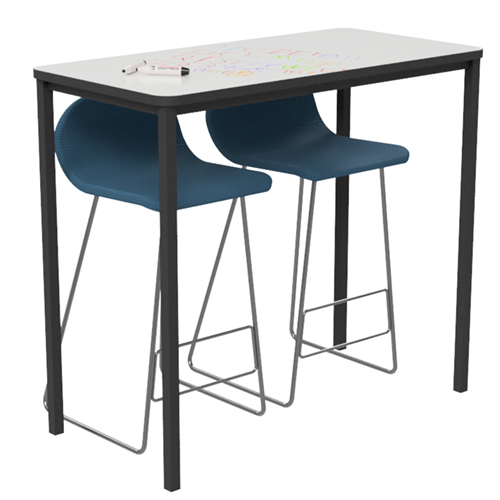 Standing Whiteboard Table